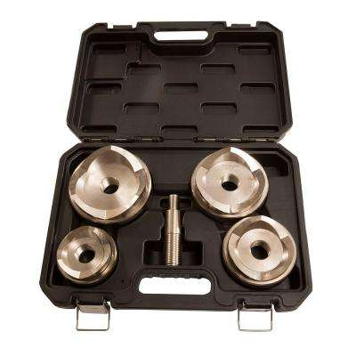 2-1/2 in. to 4 in. Max Large Punch and Die Cutter Set for Stainless Steel