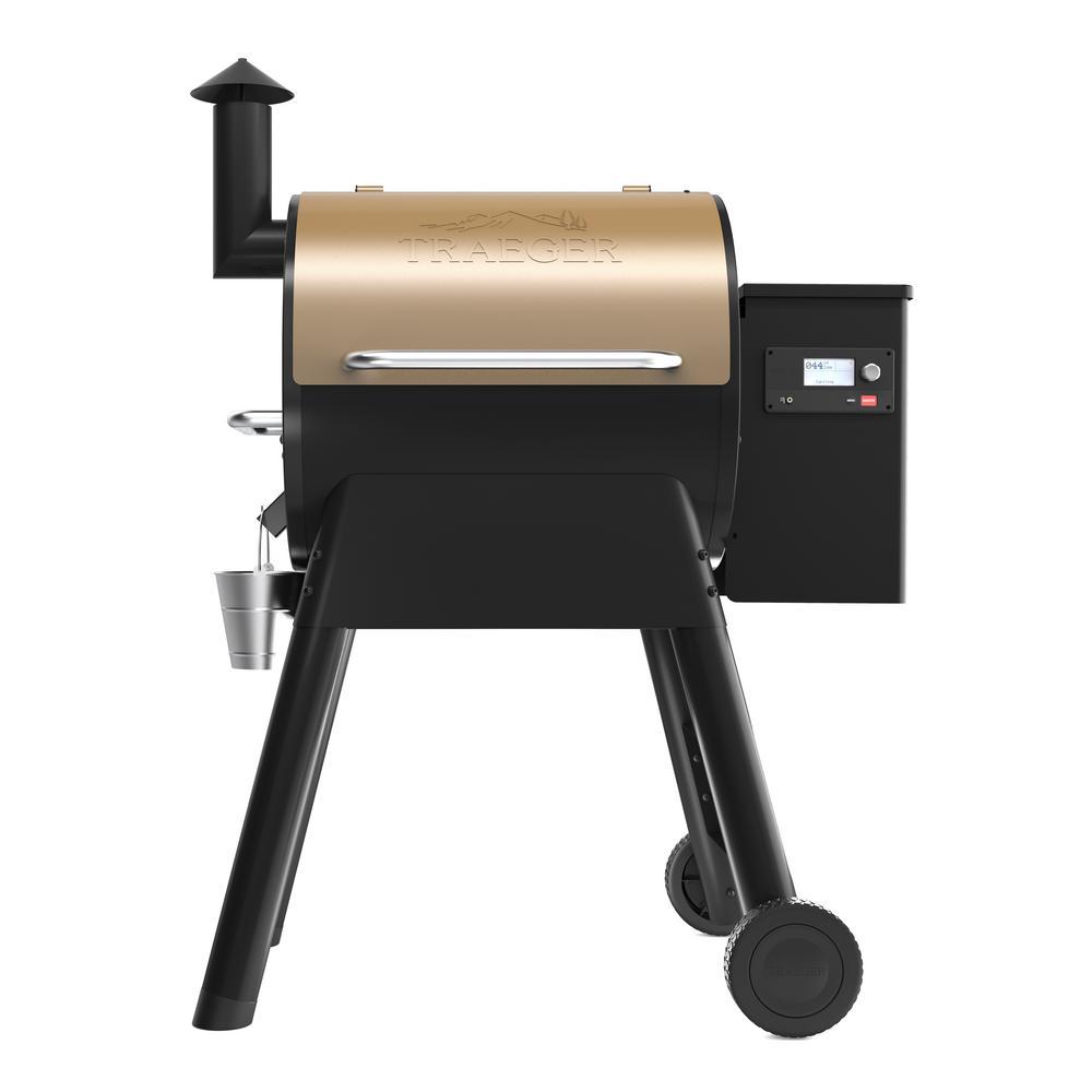 Pro 575 Pellet Grill in Bronze