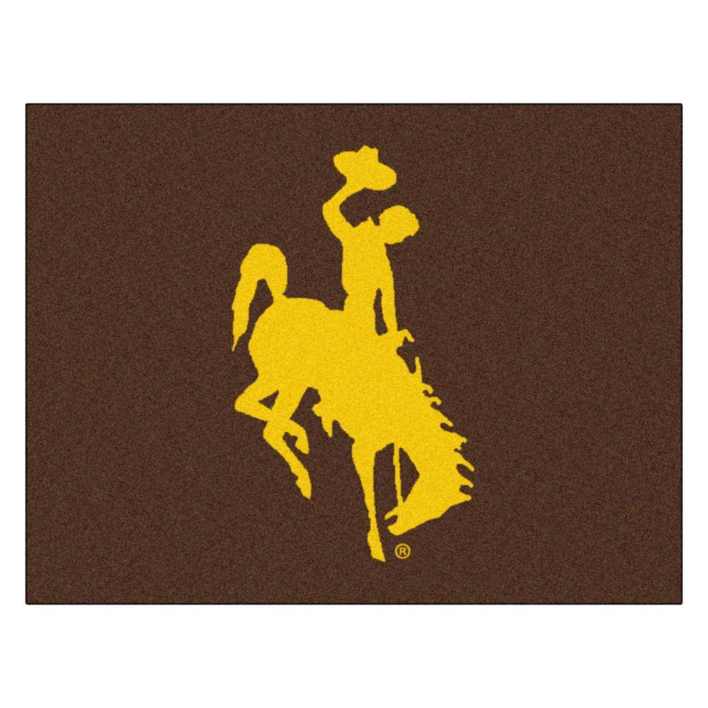 FANMATS University of Wyoming 2 ft. 10 in. x 3 ft. 9 in. All-Star Rug
