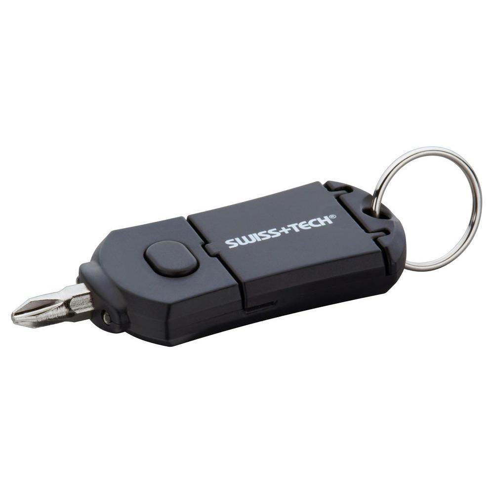 Swiss+Tech 6-In-1 Pocket Driver with LED