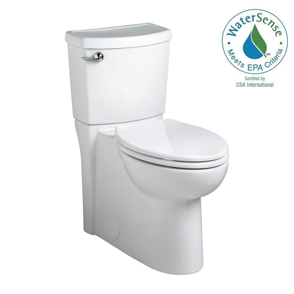 Cadet 3 FloWise 2-Piece 1.28 GPF Elongated Toilet in White