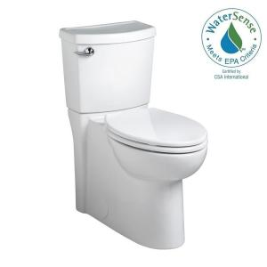 American Standard Cadet 3 FloWise 2-Piece 1.28 GPF Single Flush Elongated Toilet in White by American Standard