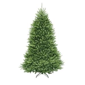 12 ft. Dunhill Fir Artificial Christmas Tree with 1500 Clear Lights by