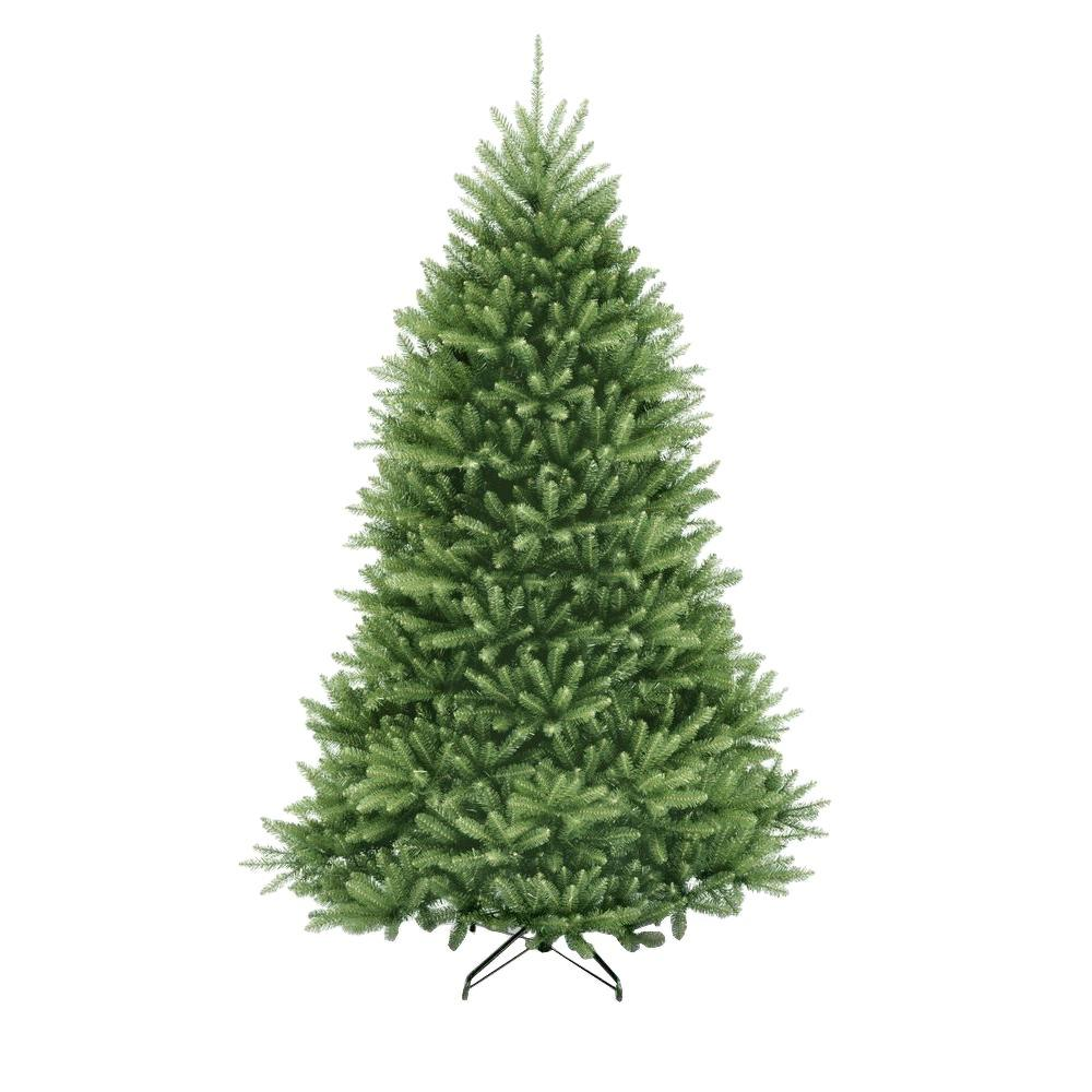 Unlit Christmas Trees