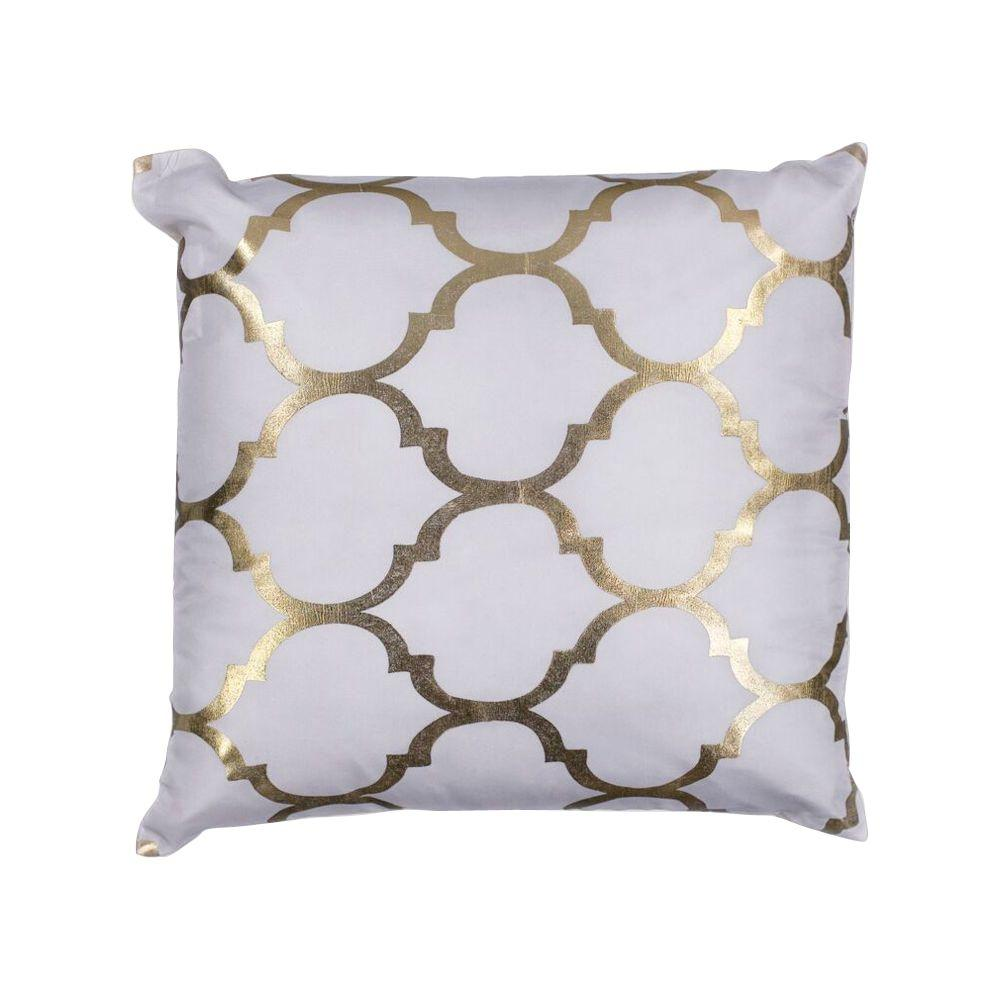 Decorative Pillow Ivory : Kas Rugs Sabrina Ivory Decorative Pillow-PILL29818SQ - The Home Depot
