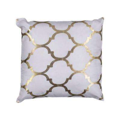 Sabrina Ivory Decorative Pillow