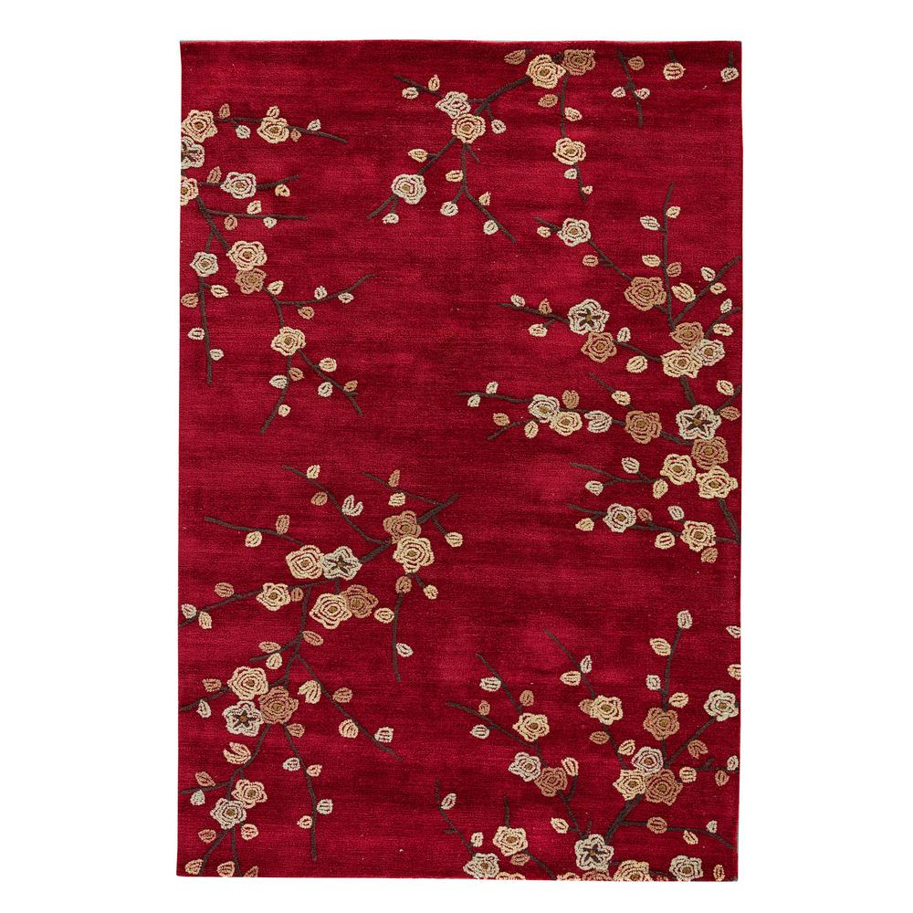 Jaipur Rugs Chili Pepper 2 Ft. X 3 Ft. Floral Area Rug