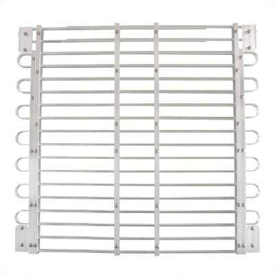 34 - 37 in. x 45 - 60 in. Adjustable Aluminum Window-Well Grate