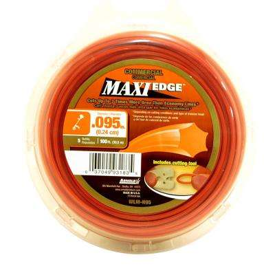 0.095 in. x 100 ft. Maxi Edge Commercial Trimmer Line
