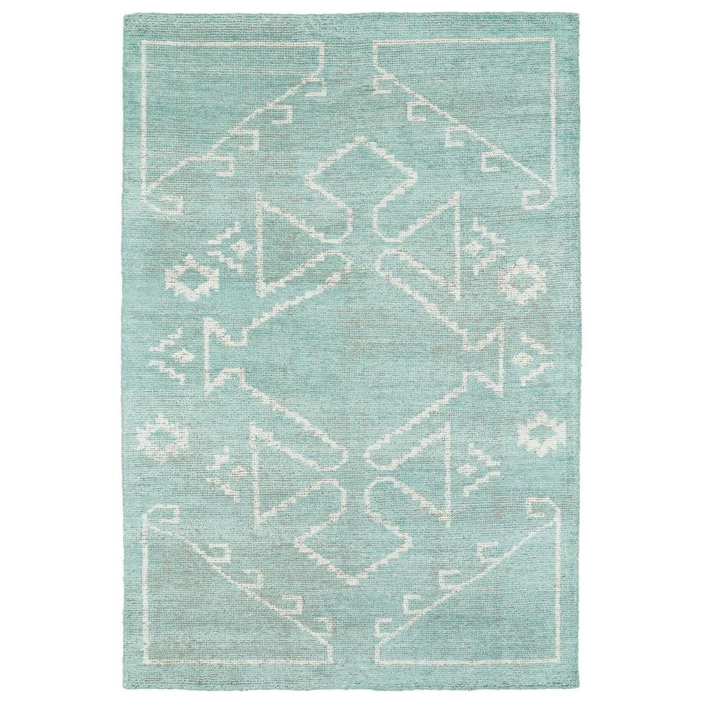 Kaleen Solitaire Mint 5 Ft X 8 Ft Area Rug Sol09 88 579