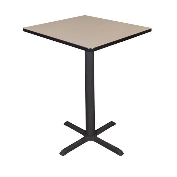 Regency Cain Beige 30 in. Square Cafe Table TCB3030BE
