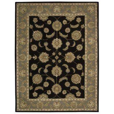 India House Black 8 ft. x 11 ft. Area Rug