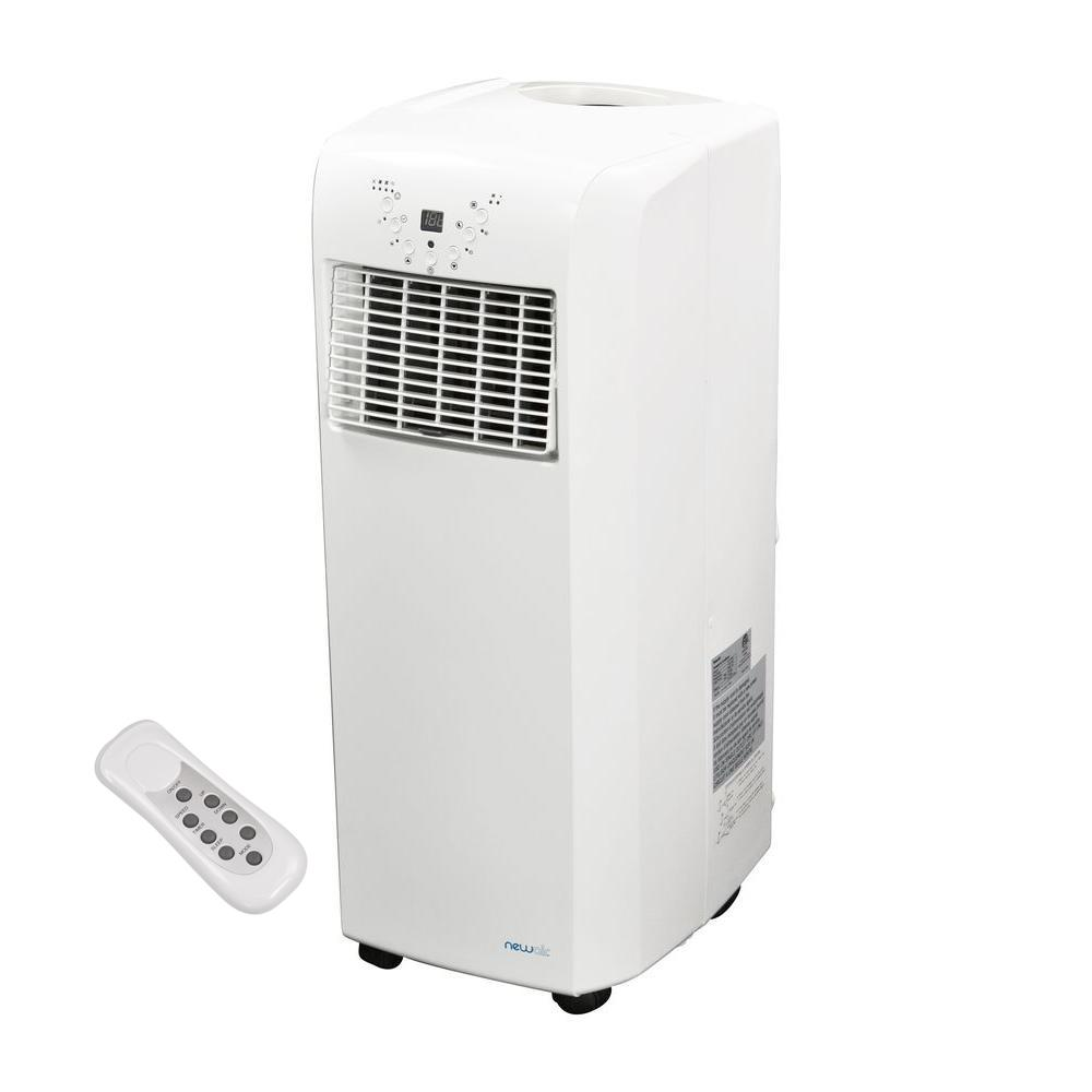 Ultra Compact 10,000 BTU Portable Air Conditioner with Dehumidifier