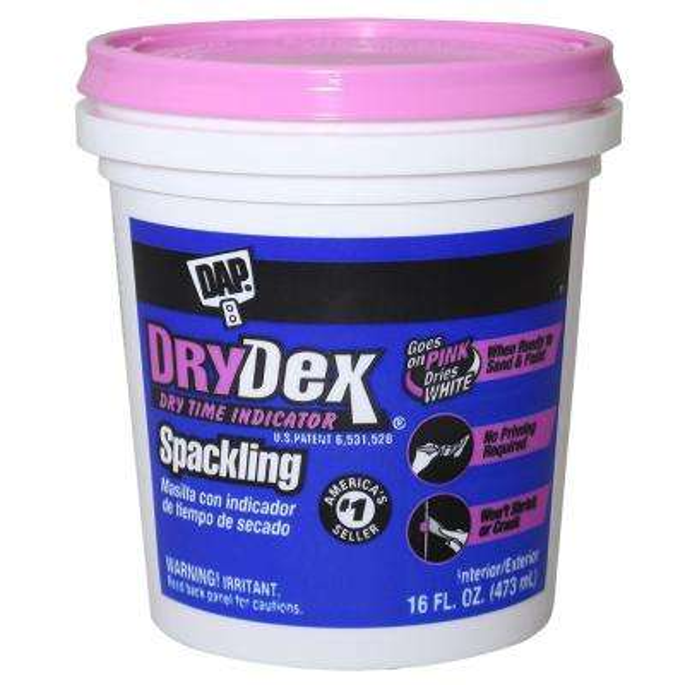 DryDex 16 oz. Dry Time Indicator Spackling Paste