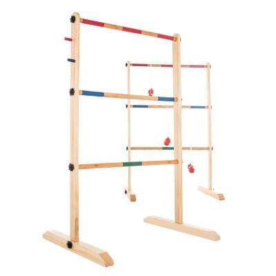 39.5 in. H Wooden Ladder Golf with 6 Bolas