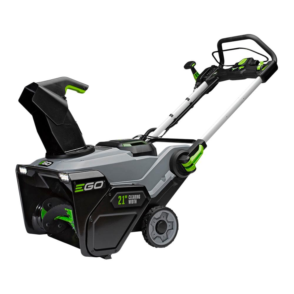 EGO Reconditioned 21 in. 56V Lith-Ion Cordless Electric Single-Stage Snow Blower, Two 5.0 Ah Batteries and Charger Included