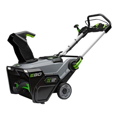 21 in. 56-Volt Lithium-Ion Single-Stage Cordless Electric Snow Blower with Two 7.5 Ah Batteries and Charger Included