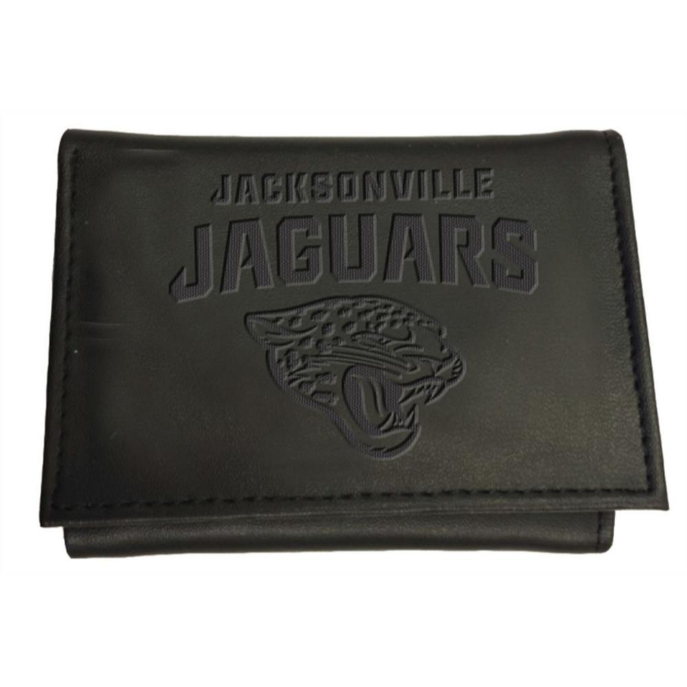 Wholesale Team Sports America Jacksonville Jaguars NFL Leather Tri Fold Wallet  for cheap