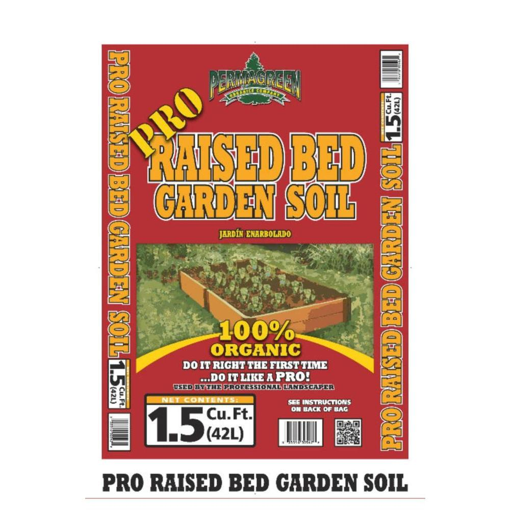 Permagreen PRO 1.5 Cu. Ft. Raised Bed Garden Soil-ProGS