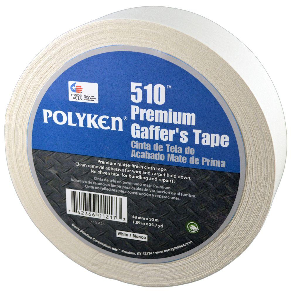 Polyken 1.89 in. x 54.7 yd. 510 Professional-Grade Gaffer Tape in ...