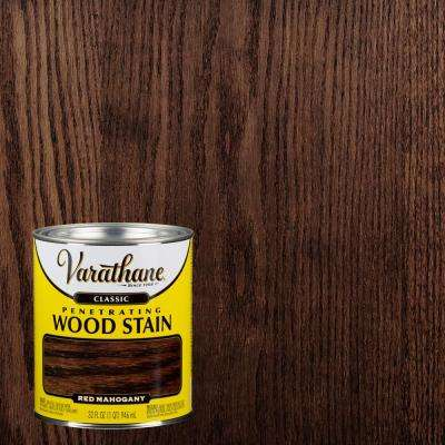 1-qt. Red Mahogany Classic Wood Interior Stain (2-Pack)