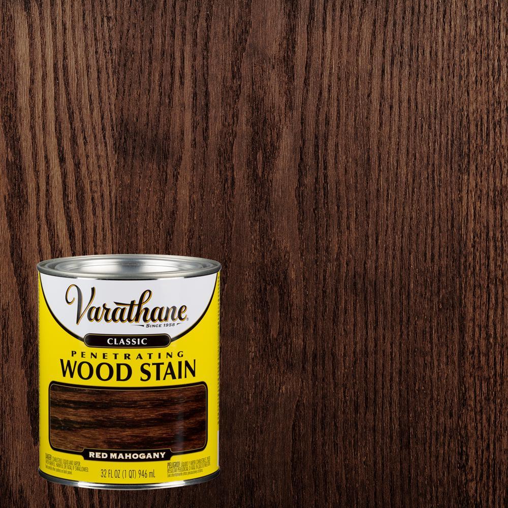 1 qt. Red Mahogany Classic Wood Interior Stain