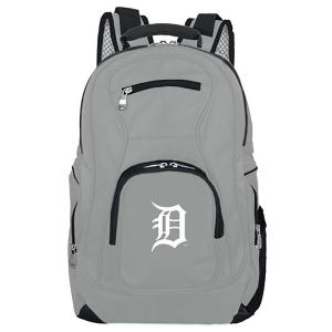 MLB Detroit Tigers 19 in. Gray Laptop Backpack
