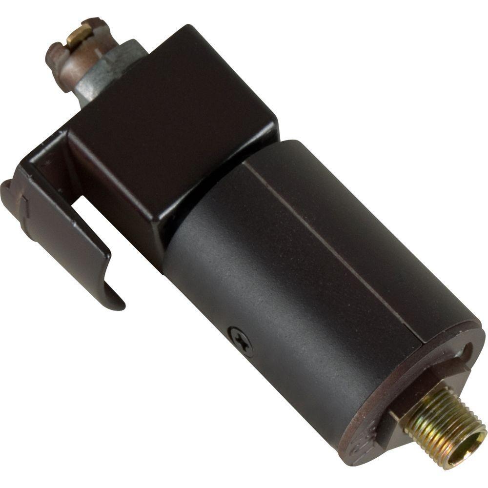 Progress Lighting Black Track Pendant Adapter P8728