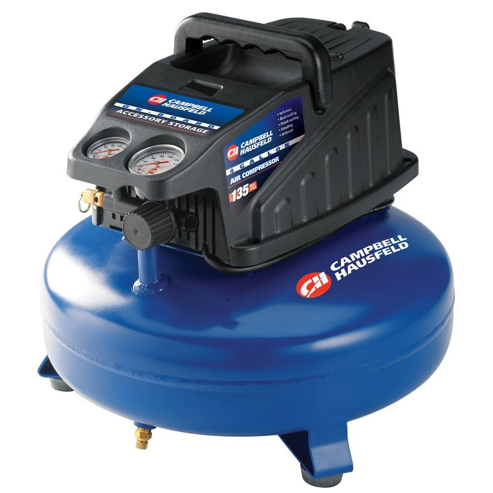 Campbell Hausfeld 4 gal. Portable Electric Compressor