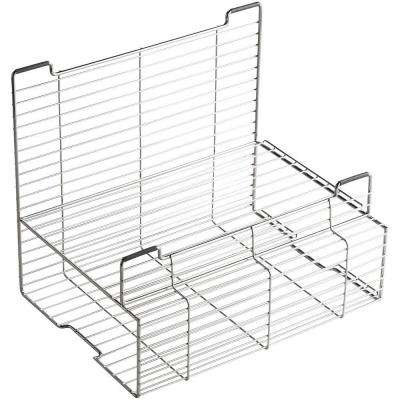 Stainless Steel Storage Rack for Stages 33 and 45 in. Kitchen Sinks