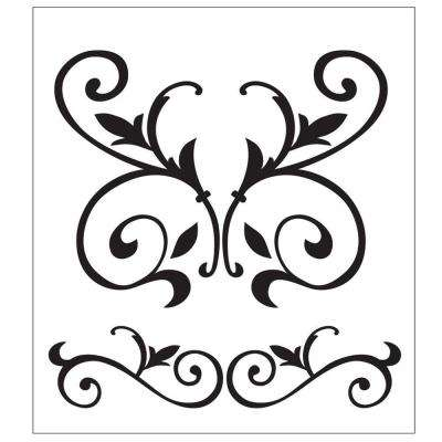 Scroll Painting Stencils