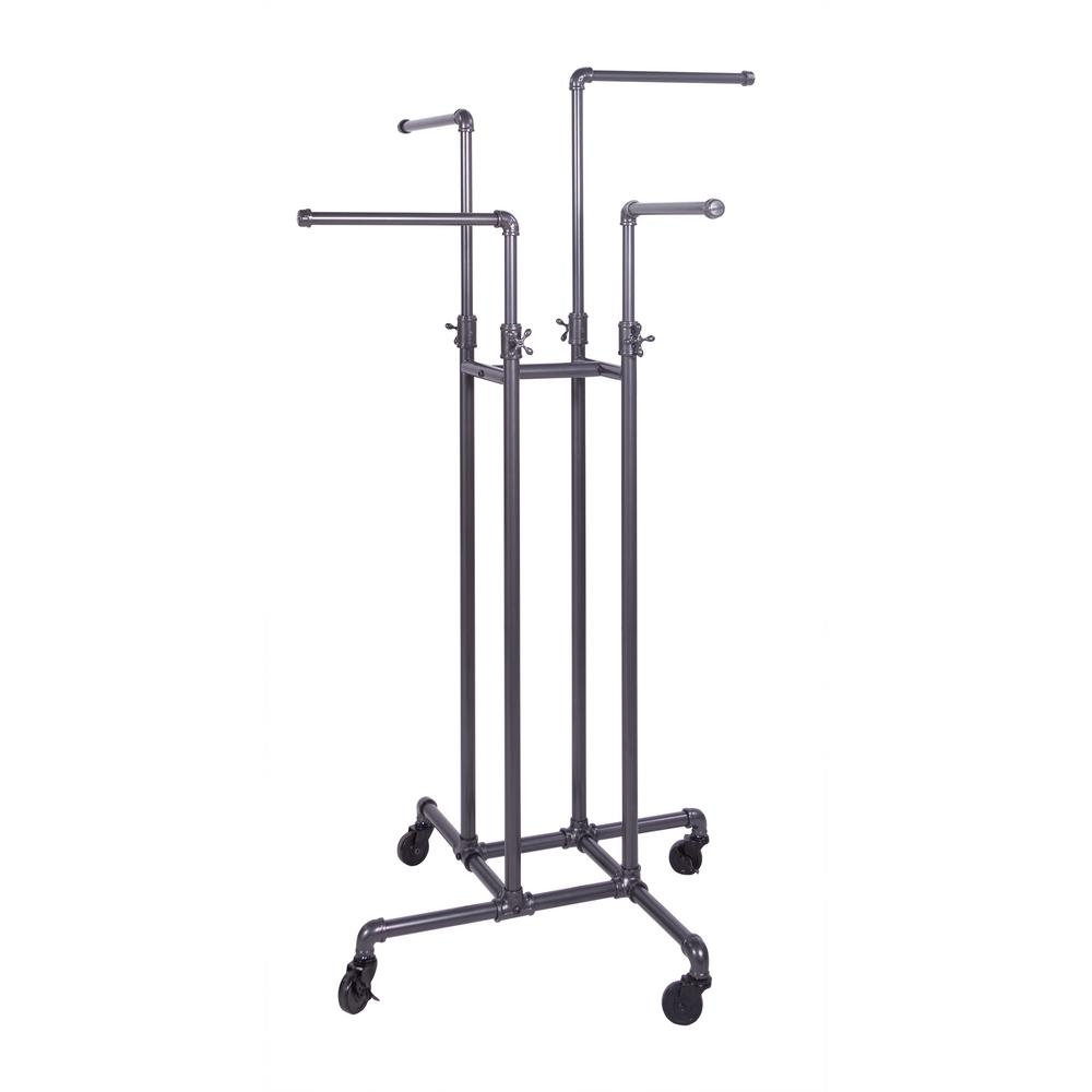 Pipeline 16 in. W x 72 in. H 4-Way Adjustable Height