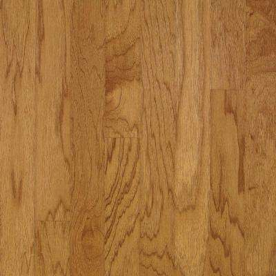 Take Home Sample - Hickory Autumn Wheat Engineered Hardwood Flooring - 5 in. x 7 in.