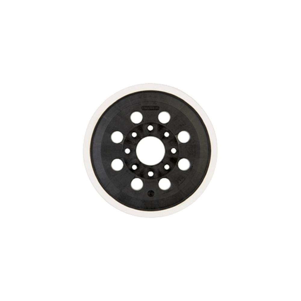 5 in. 8-Hole Soft Duro Hook and Loop Sander Backing Pad