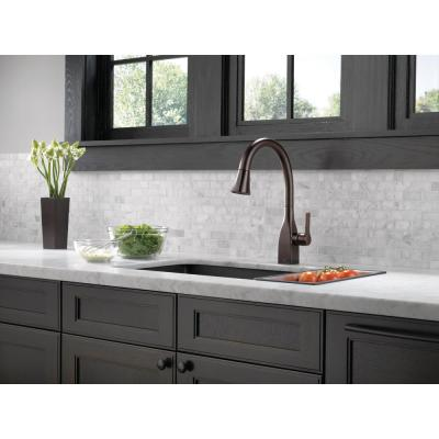 Mateo Single-Handle Pull-Down Sprayer Kitchen Faucet with Touch2O and ShieldSpray Technology in Venetian Bronze