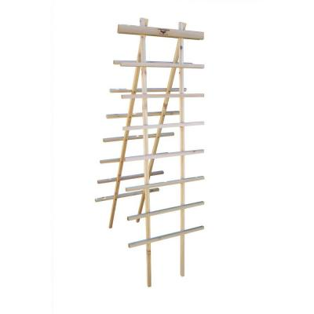 24 in. W x 72 in. H Wood Ladder Trellis Kit