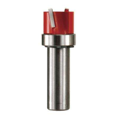 3/4 in. x 1/2 in. Carbide Top Bearing Dado Router Bit