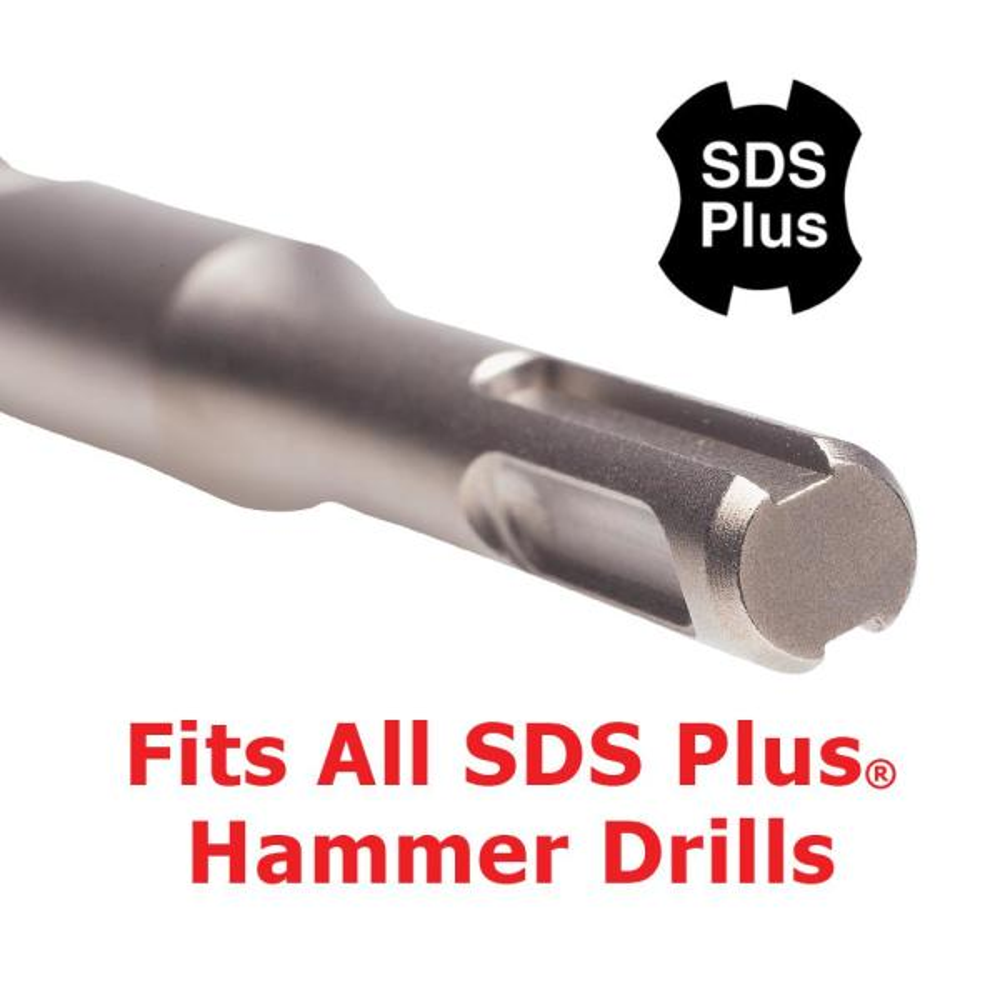 Silverline 868621 SDS Plus Masonry Drill Bit 25 x 460 mm
