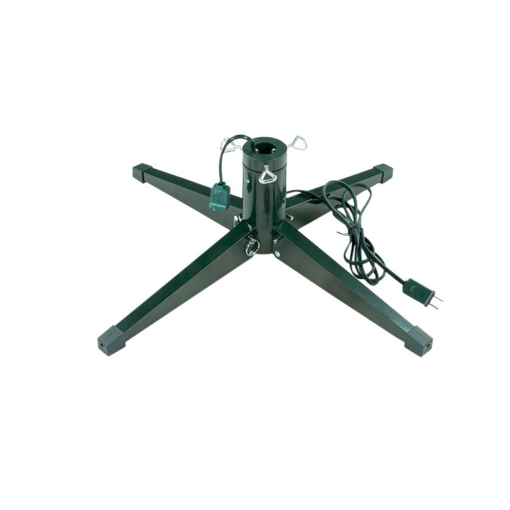 ideal revolving tree stand for artificial trees up to 8 ft