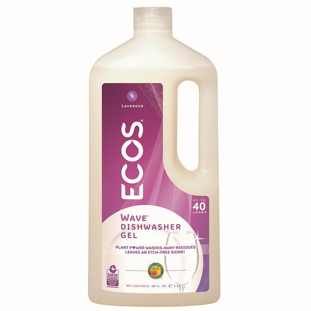40 oz. Squeeze Bottle Lavender Scent Wave Gel Dishwasher Detergent