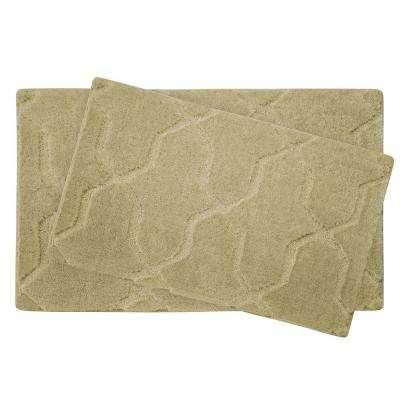 Pearl Drona Banana 2-Piece Bath Mat Set