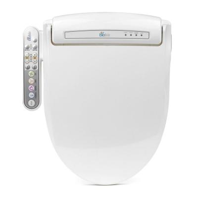 Prestige Electric Bidet Seat for Round Toilets in White