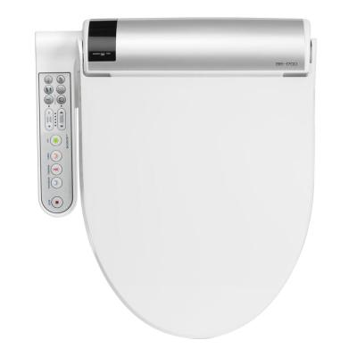 Advanced Bliss Electric Bidet Seat for Elongated Toilets in White