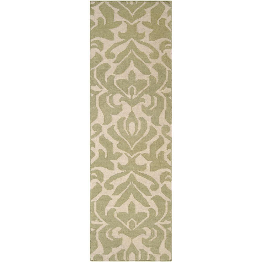Candice Olson Sage 2 ft. 6 in. x 8 ft. Flatweave