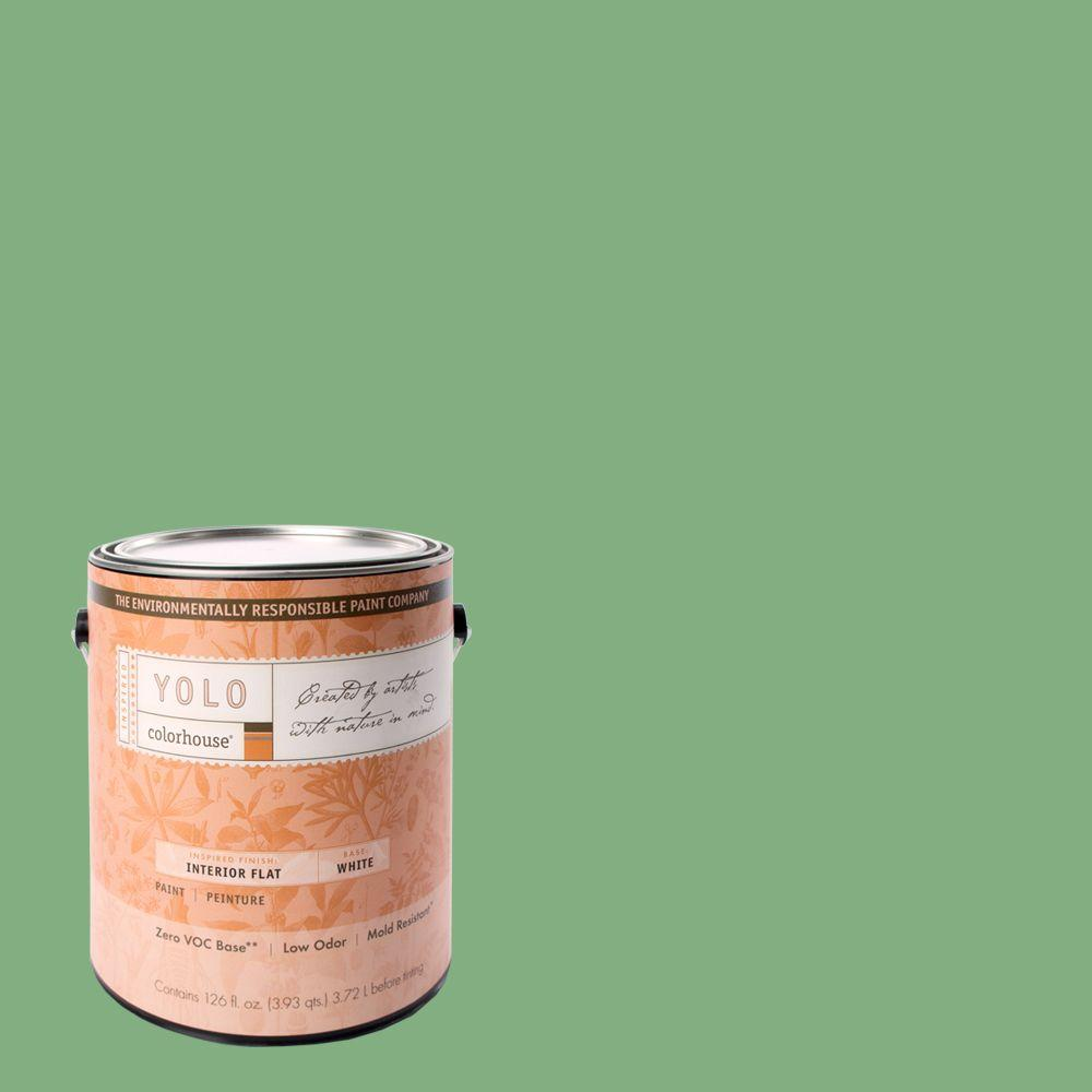 YOLO Colorhouse 1-gal. Thrive .05 Flat Interior Paint-DISCONTINUED