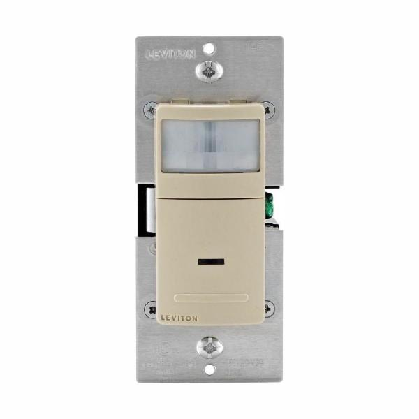 Decora Motion Sensor In-Wall Switch, Auto-On, 2.5 A, Single Pole, Ivory (5 Pack)