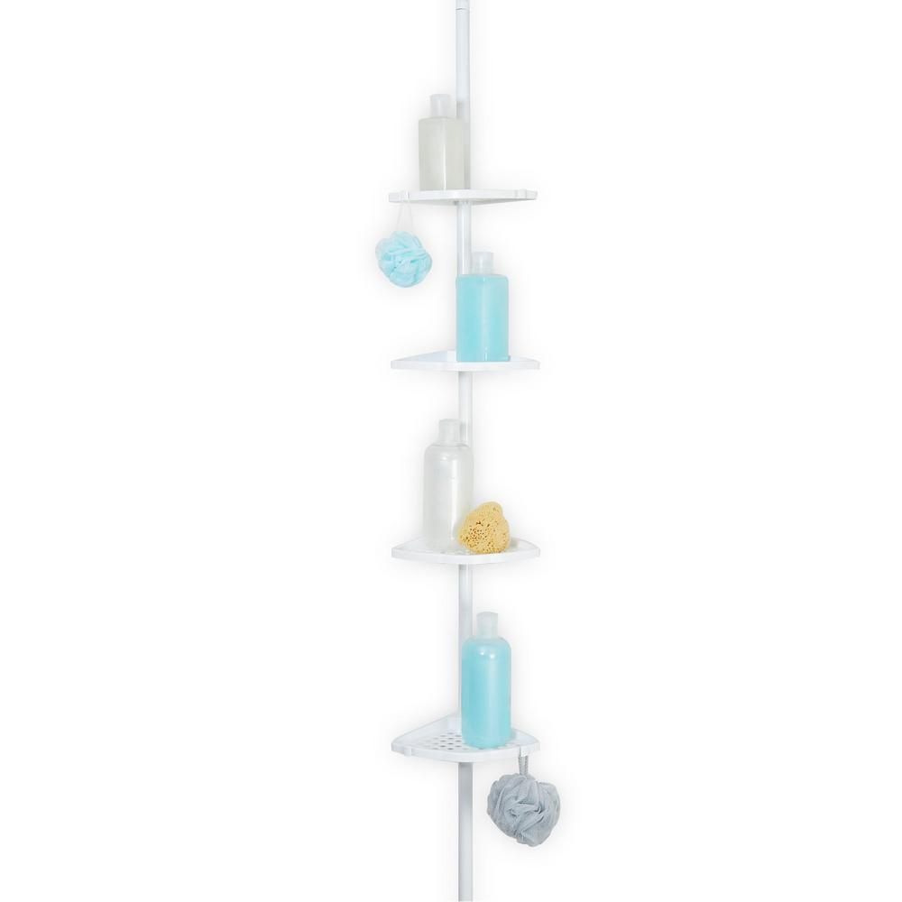 Better Living Ultimate Shower Pole in White