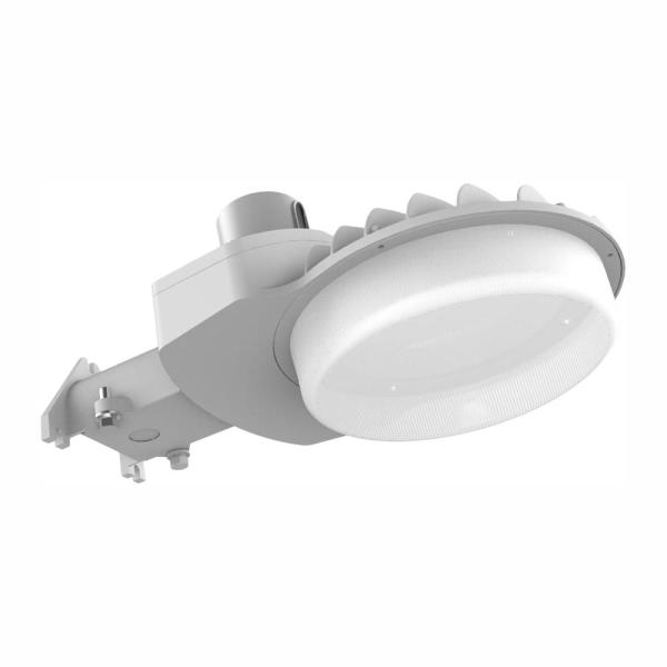 600-Watt Equivalent Integrated LED Gray Dusk to Dawn Area Light and Flood Light with 9000 Lumens Outdoor Light