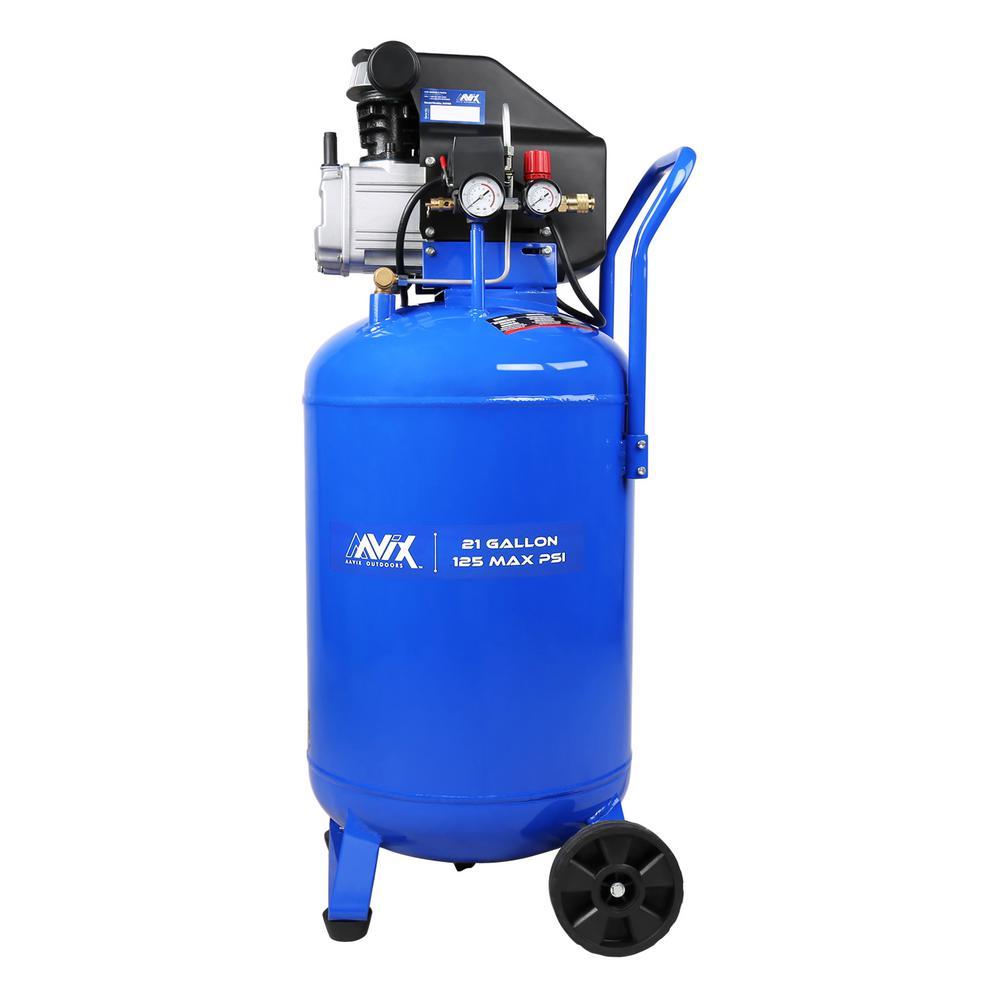 Aavix 21 Gal Portable Electric 125 Psi