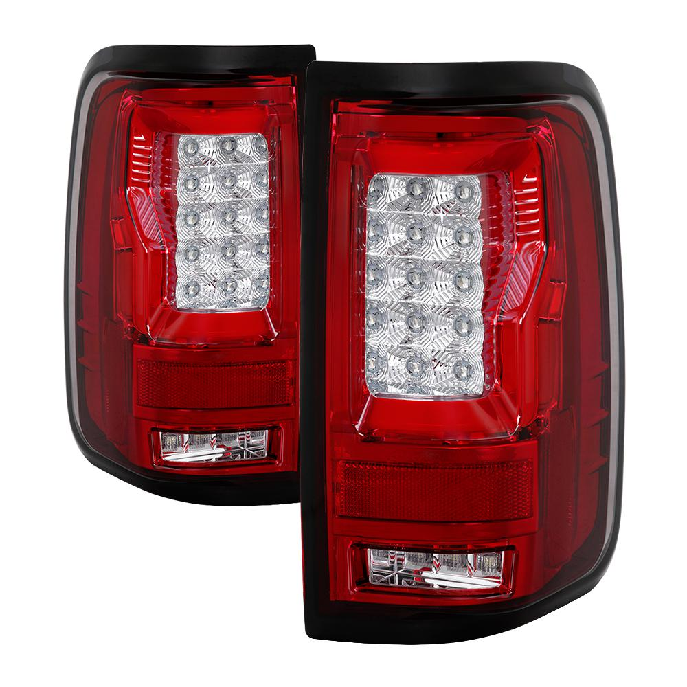 Spyder Auto Ford F150 Styleside 04 08 Not Fit Heritage Svt Version 2 Light Bar Led Tail Lights Red Clear